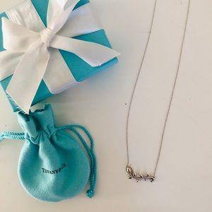 Tiffany & Co. olive leaf necklace